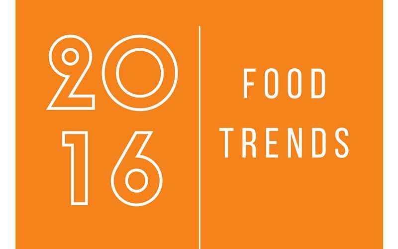 Food trends of 2016 sustainable cities collective