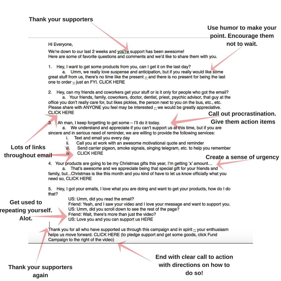 The Anatomy of A Great Fundraising Ask Letter | Health & Wellness