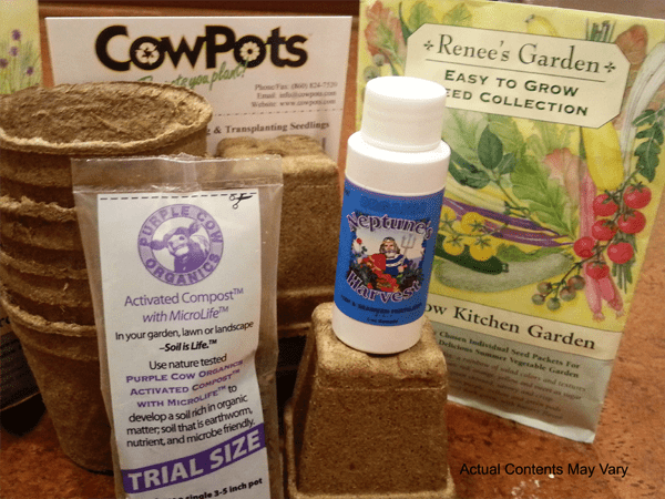 TFG Organic Gardening Subscription Boxes by Maureen Farmer