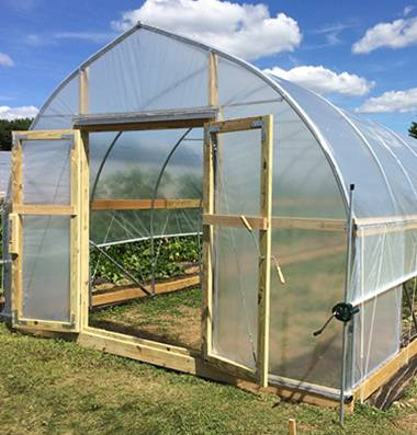 Help south circle and big city farms grow more food by for Walk in greenhouse big lots